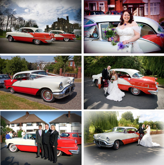 1950s Classic American Cars For Wedding Special Event Hire
